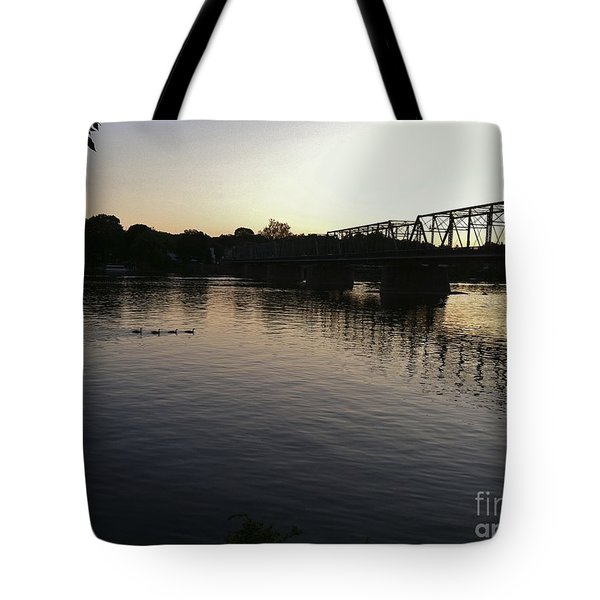 Geese Going Places Tote Bag