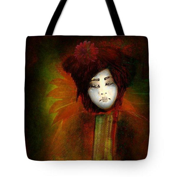 Geisha5 - Geisha Series Tote Bag