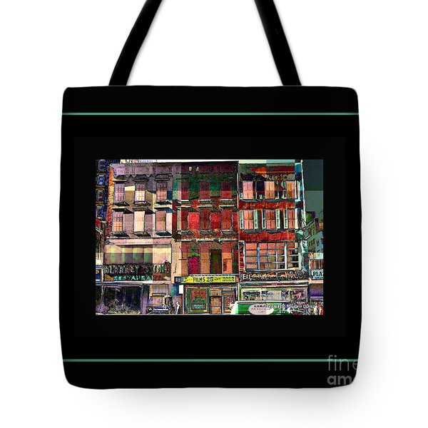 Gem Collection - New York In 1975 - Print Or Card Tote Bag by Miriam Danar
