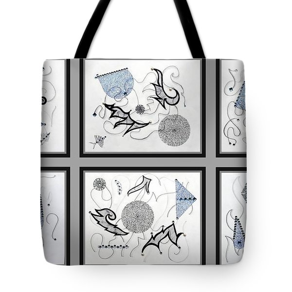 Gem-tle Tote Bag by Sumit Mehndiratta