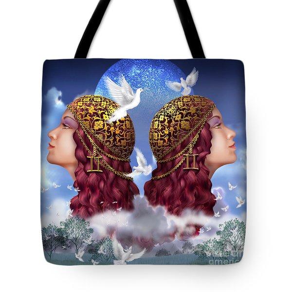 Gemini Tote Bag by Ciro Marchetti
