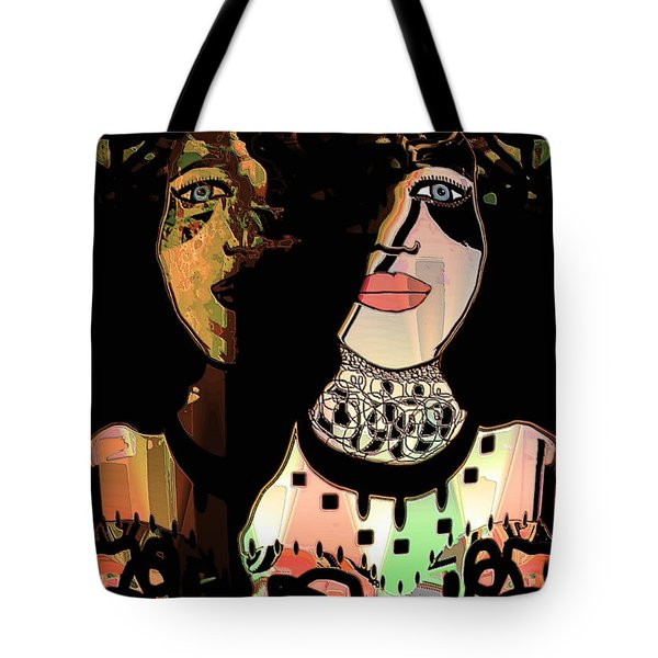 Gemini Tote Bag by Natalie Holland