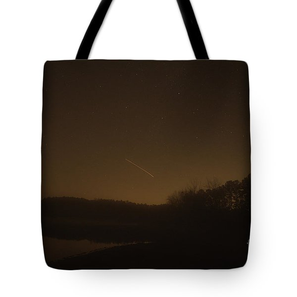 Geminid Meteor Shower Tote Bag