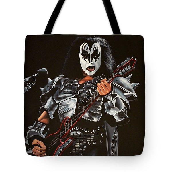 Gene Simmons Of Kiss Tote Bag