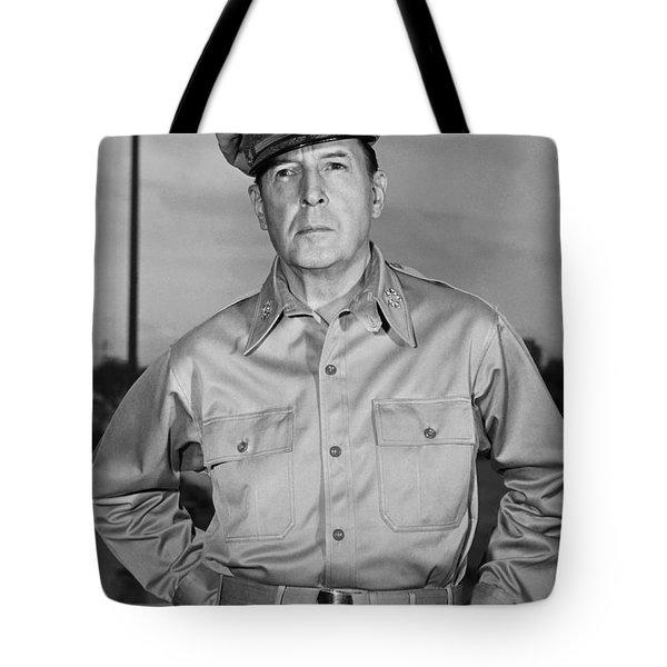 General Douglas Macarthur Tote Bag