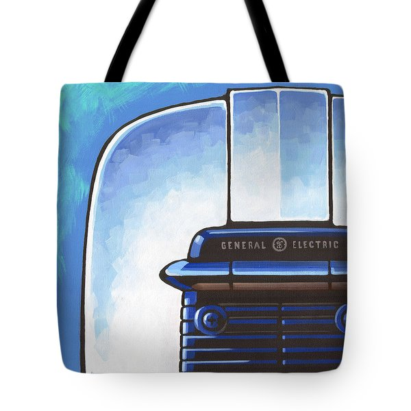 General Electric Toaster - Blue Tote Bag