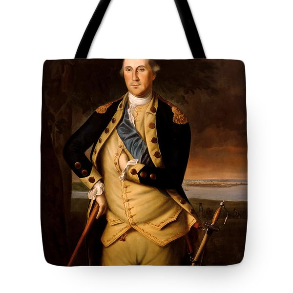 General George Washington  Tote Bag by War Is Hell Store