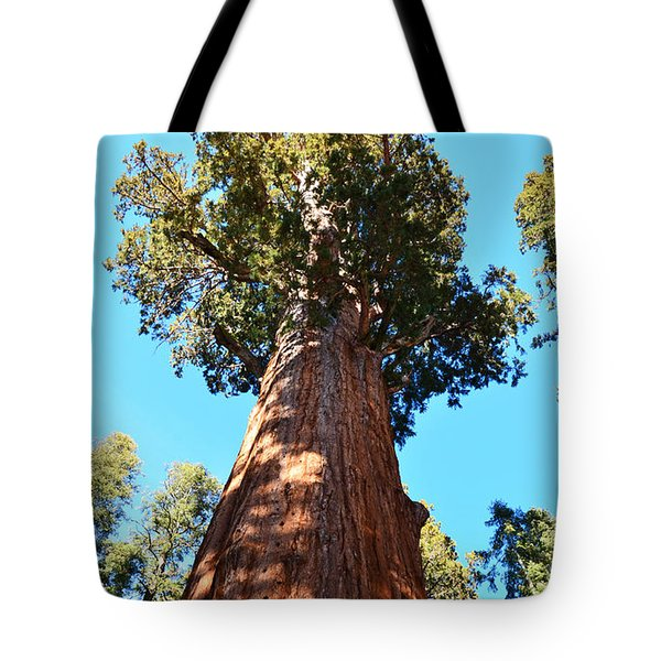 General Sherman Tree Tote Bag by Debby Pueschel