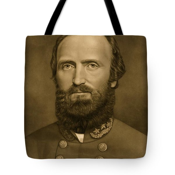 General Stonewall Jackson 1871 Tote Bag by Anonymous