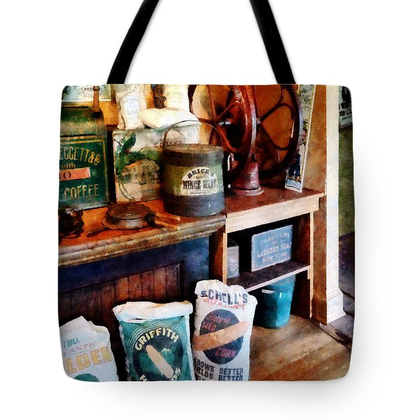 General Store Tote Bag by Susan Savad