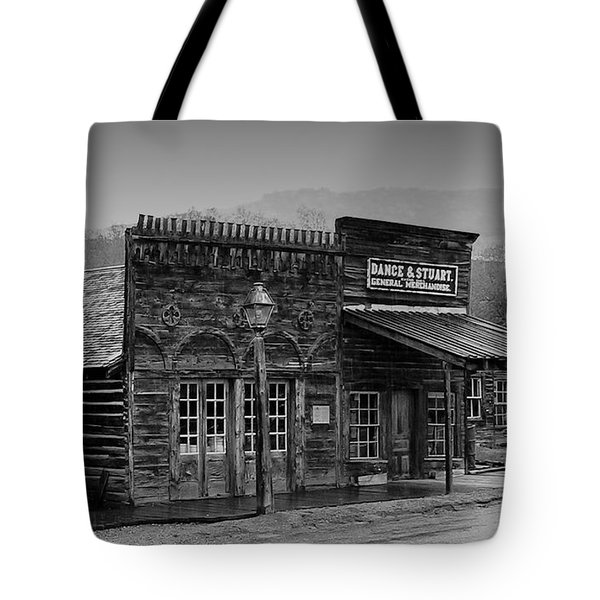 General Store Virginia City Montana Tote Bag by Thomas Woolworth