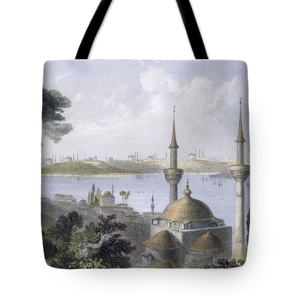 General View Of Constantinople Tote Bag