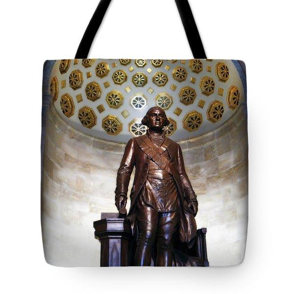 Tote Bag featuring the photograph General Washington by KG Thienemann