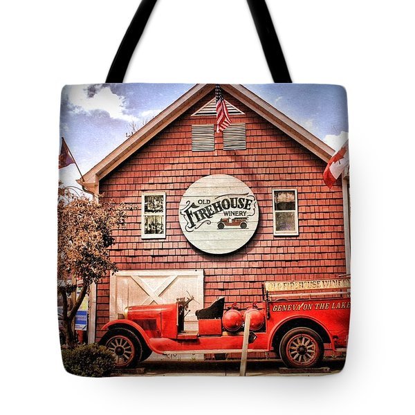 Geneva On The Lake Firehouse Tote Bag