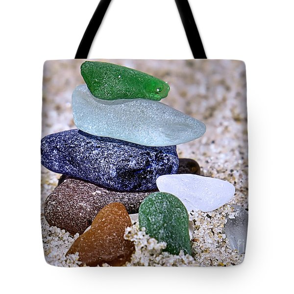 Genuine Sea Glass Tote Bag