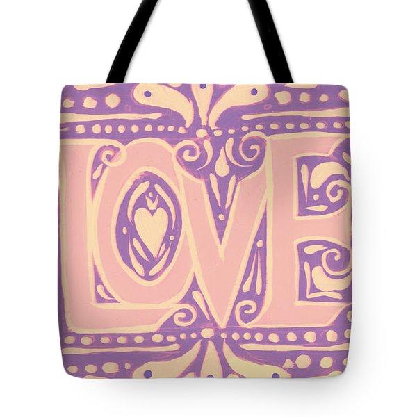 Gentel Love  Tote Bag