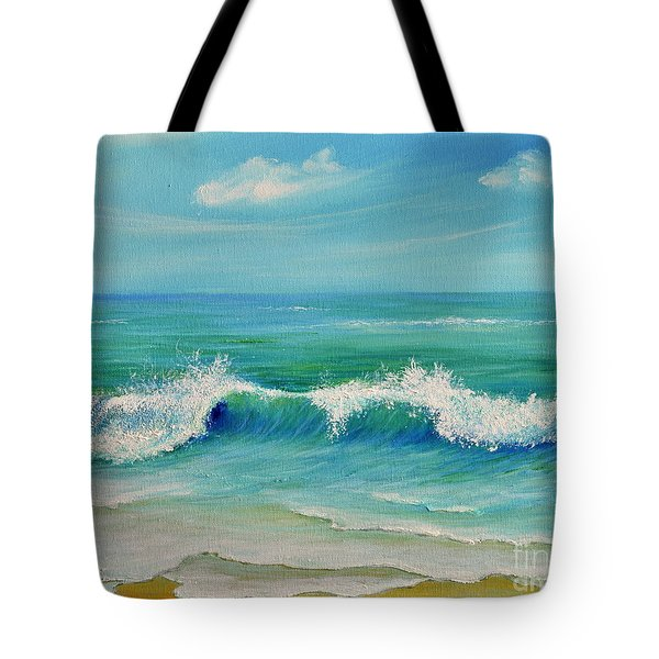 Gentle Breeze Tote Bag by Teresa Wegrzyn