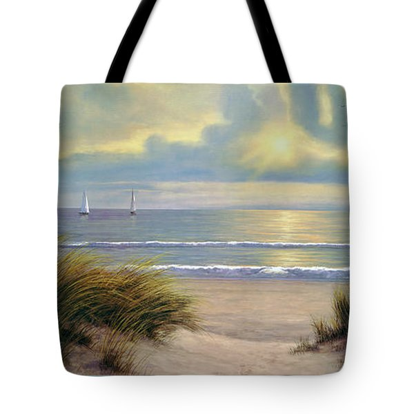 Gentle Breeze Trip Tych Tote Bag