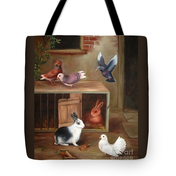 Gentle Creatures Tote Bag