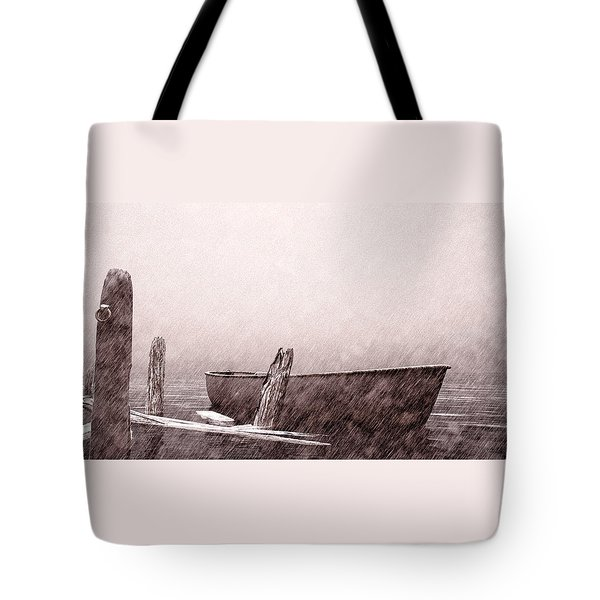 Gentle Current Tote Bag by Bob Orsillo