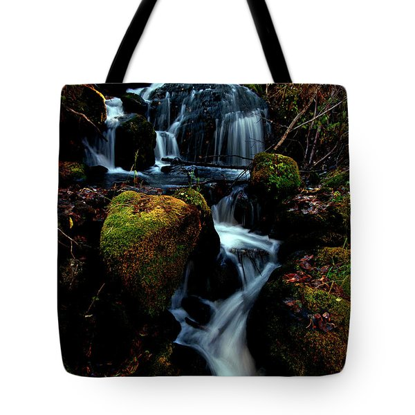 Tote Bag featuring the photograph Gentle Descent by Jeremy Rhoades