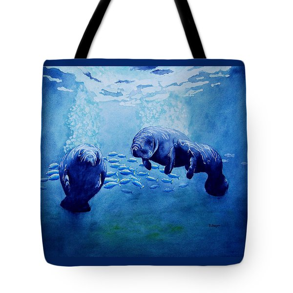 Gentle Giants Tote Bag