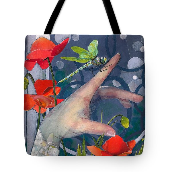 Gentle Landing Tote Bag by Robin Birrell