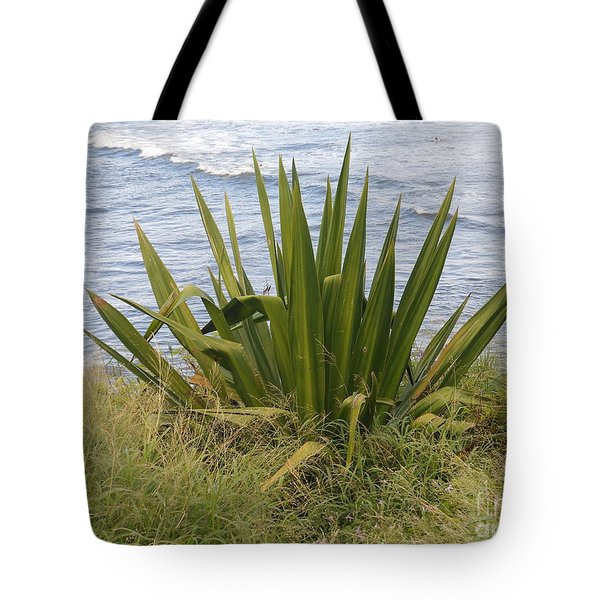 Tote Bag featuring the photograph Gentle Surf Of Maui by Fred Wilson