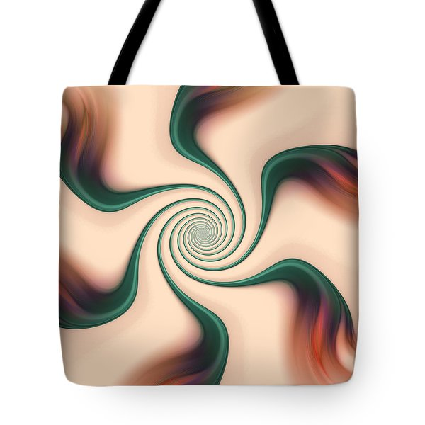 Gentle Swirls Tote Bag by Anastasiya Malakhova