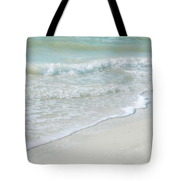 Gentle Waves Tote Bag by Julie Palencia