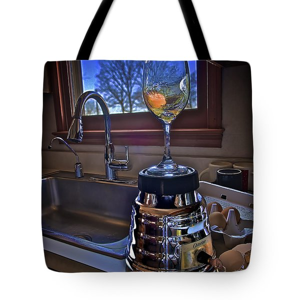 Gentlemen Start Your Blenders Tote Bag by Mark Miller