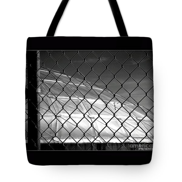 Geo Dome Tote Bag by Irma BACKELANT GALLERIES