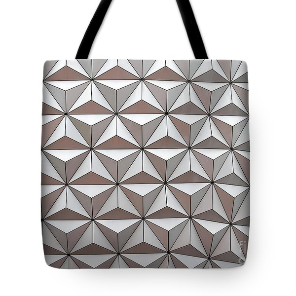 Geodesic Tote Bag by Sabrina L Ryan