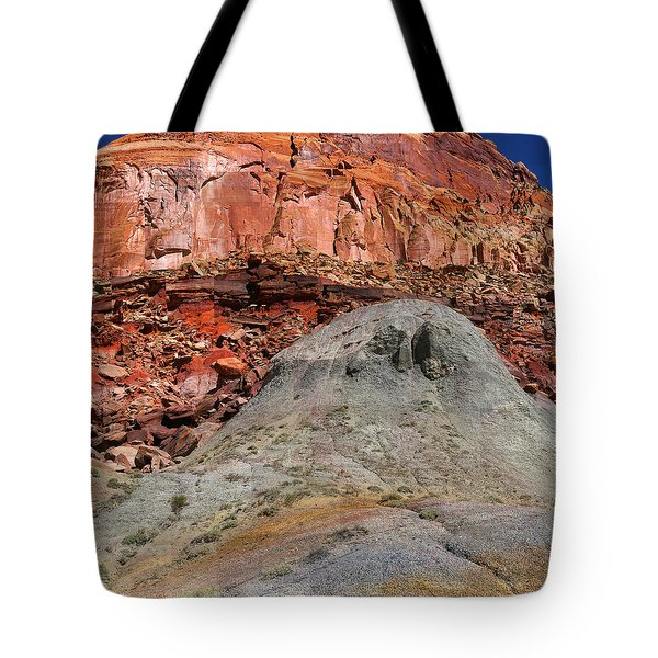 Geology Triptych - One Tote Bag