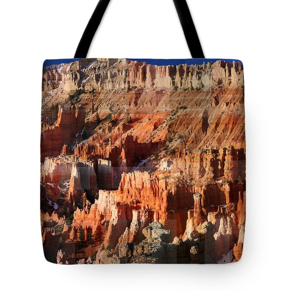 Geology Triptych - Three Tote Bag