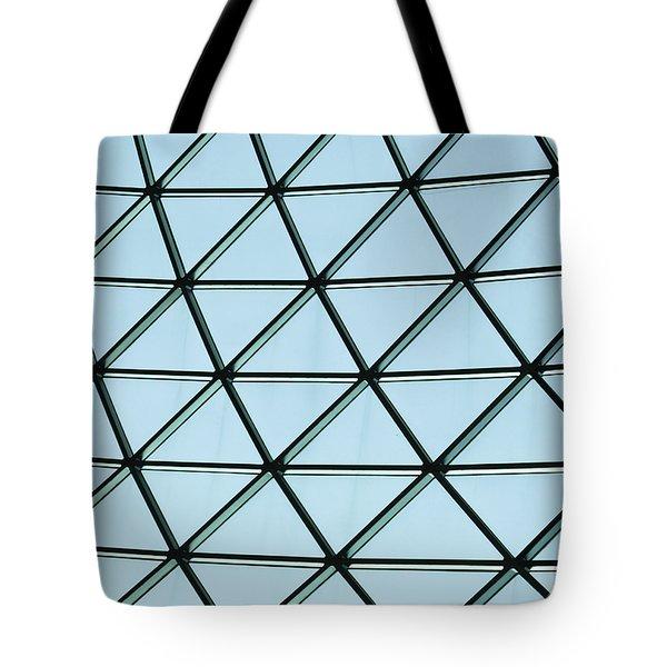 Geometric Charm Tote Bag