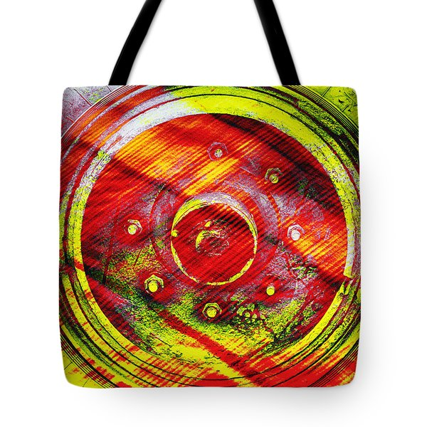 Geometric Colors  Tote Bag