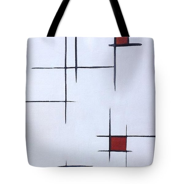 Geometric Connection Series Tote Bag