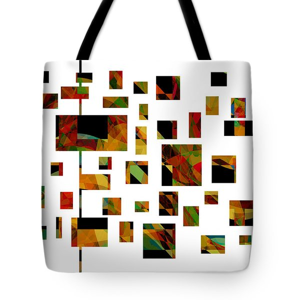 Geometric Design - Abstract - Art Tote Bag by Ann Powell
