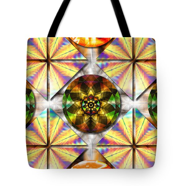 Geometric Dreamland Tote Bag