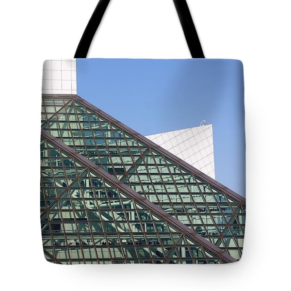 Geometric Tote Bag by Jenny Hudson