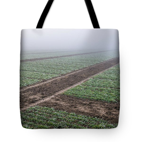 Geometry In Agriculture Tote Bag by Hannes Cmarits