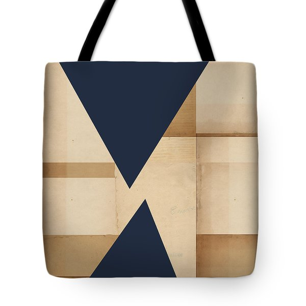 Geometry Indigo Number 2 Tote Bag