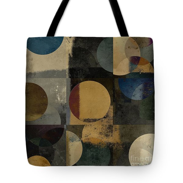 Geomix 01 - 111bt2a Tote Bag by Variance Collections