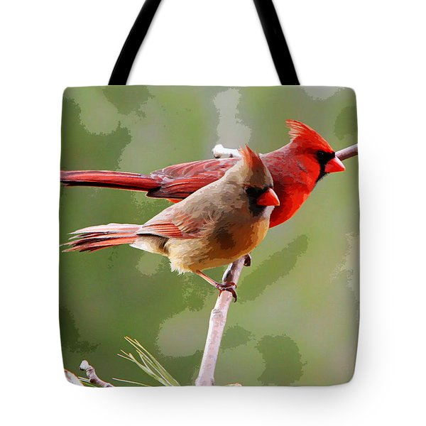 George And Gracie Tote Bag by John Freidenberg