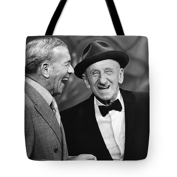 George Burns And Jimmy Durante Tote Bag