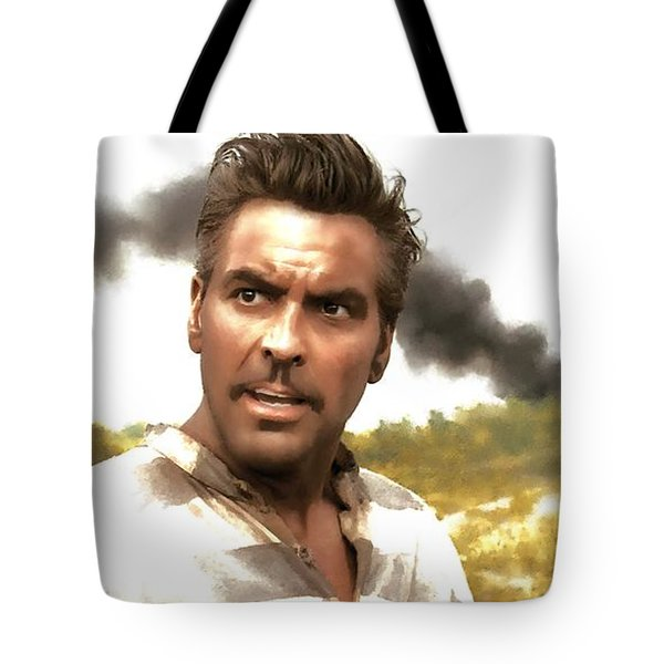 George Clooney In The Film O Brother Where Art Thou Tote Bag