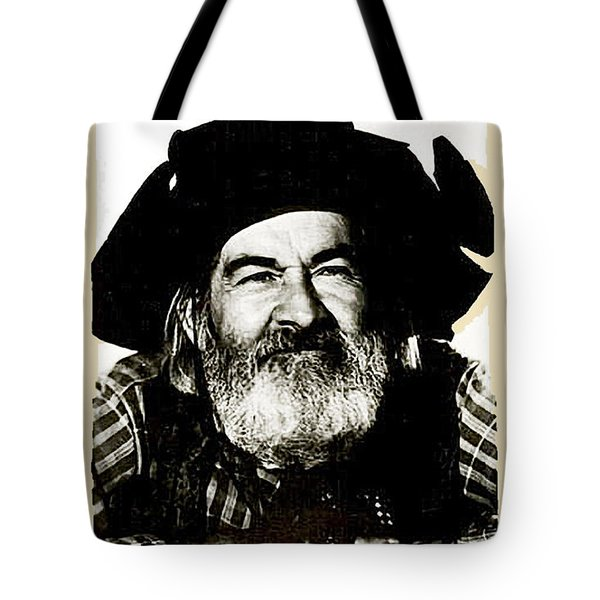 George Hayes Portrait #1 Card Tote Bag
