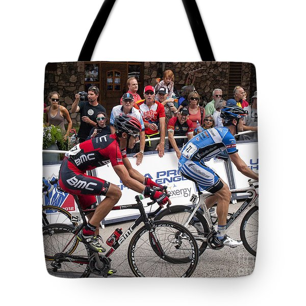George Hincapie Tote Bag