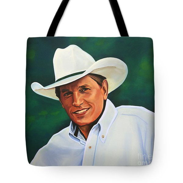 George Strait Tote Bag